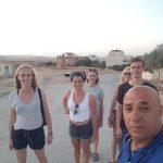 דינה חביב והחברות שלה מגרמניה התארחו במערה שבהר