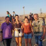 סיור גמלים בכפר הנוקדים