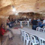 ארוחת בוקר חגיגית במערה לעובדי עיריית תל אביב