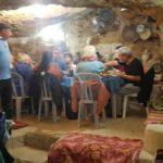 אירוח וארוחת ערב במערה שבהר