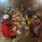 קהילת העבריים מדימונה מתארחת במערה שבהר