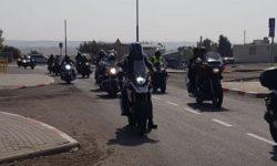 קבוצת אופנוענים הדרימו למערה שבהר בדרי'את