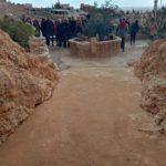עובדי משרד החינוך בדריג'את בשולי בקעת ערד